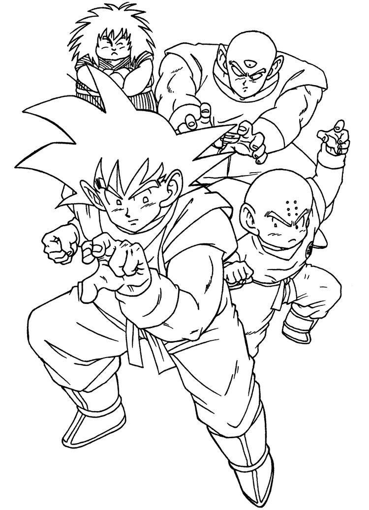 Coloring Pages Of Dragon Ball