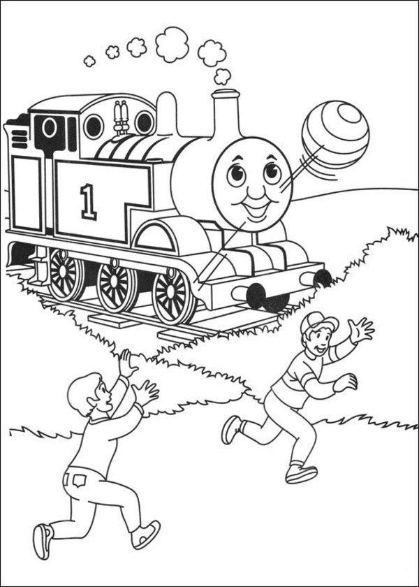 Coloring Pages Of Thomas The Train For Kids