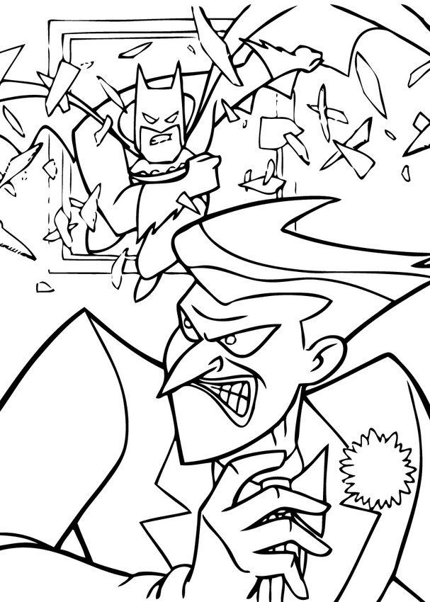 Coloring Pages Printable Batman And Joker