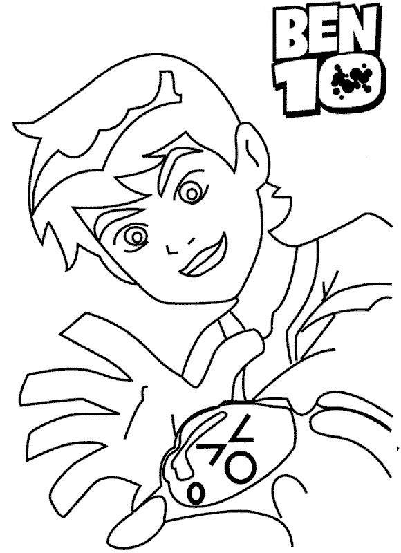 Coloring Pages Printable Ben 10 For Kids