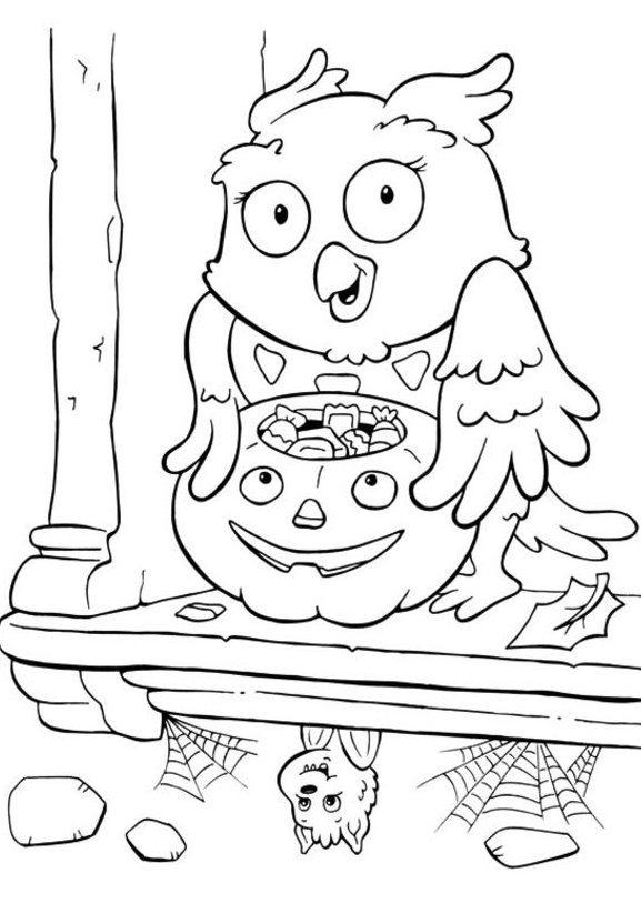 Coloring Pages Printable For Halloween