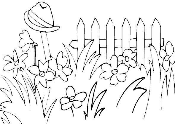 Coloring Pages Printable Spring Free