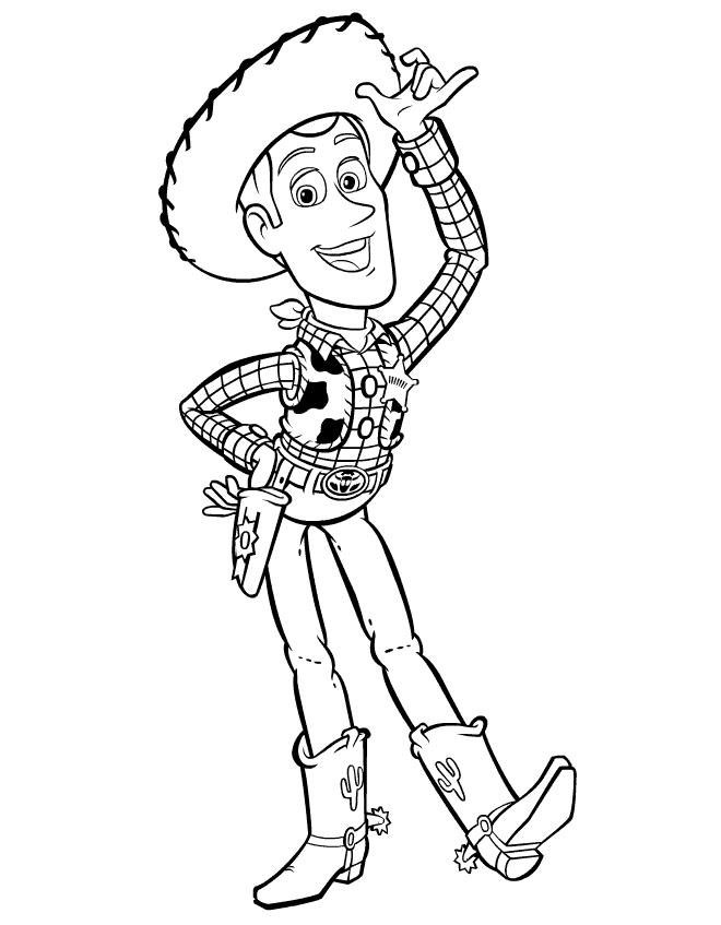 Coloring Pages Printable Toy Story