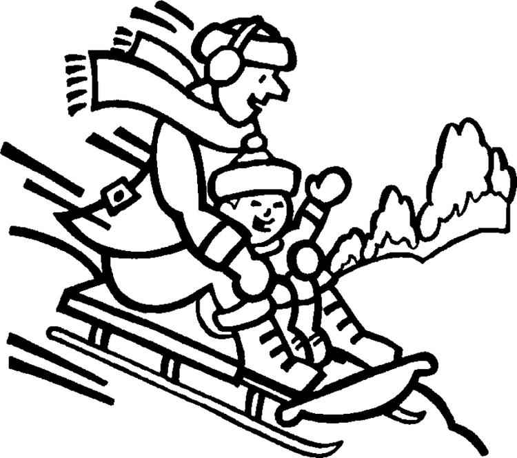 Coloring Pages Winter Fun Activities