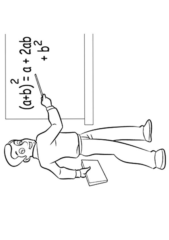 Community Helpers Coloring Pages Teacher