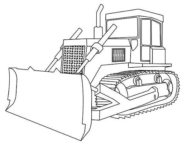 Construction Trucks Coloring Pages To Print