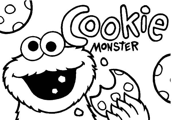 picture about Cookie Monster Printable titled Cookie Monster Coloring Webpages Printable - Coloring Recommendations