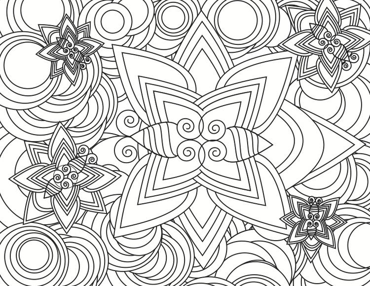 photograph about Abstract Coloring Pages Printable known as Interesting Summary Coloring Internet pages Printable - Coloring Programs