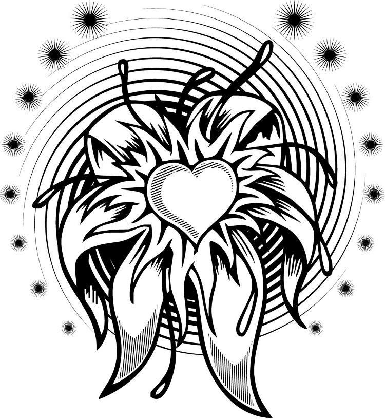Cool Flower Coloring Pages