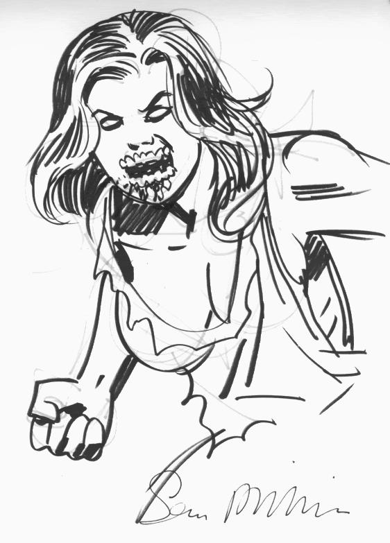 Cool Marvel Zombies Coloring Pages