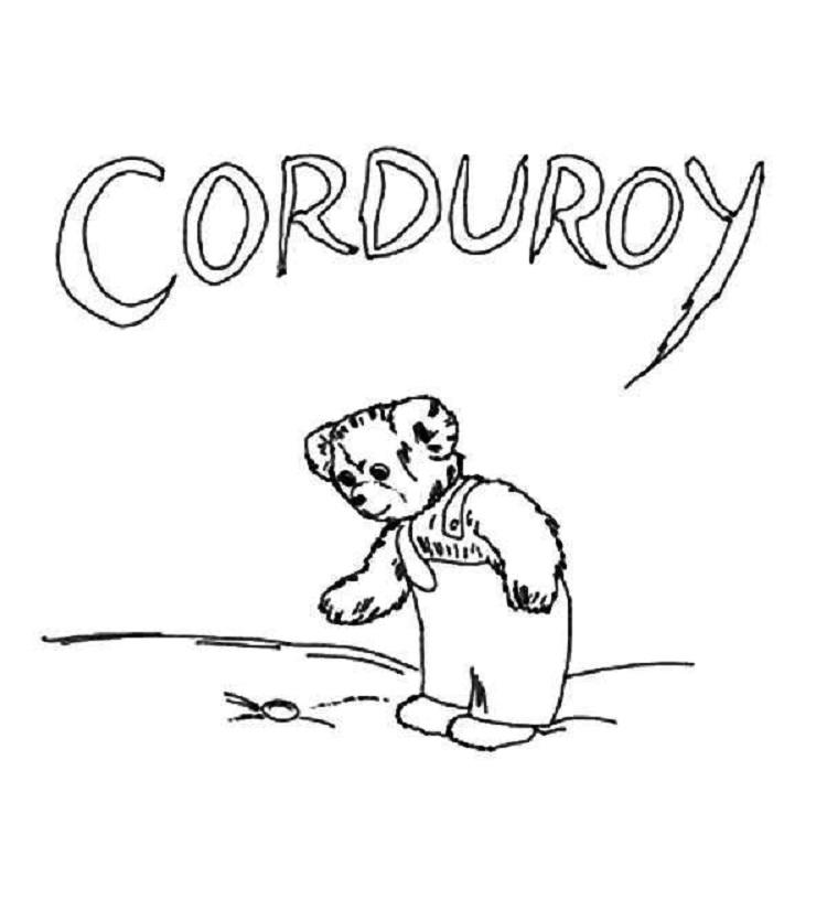 Corduroy Bear Coloring Pages