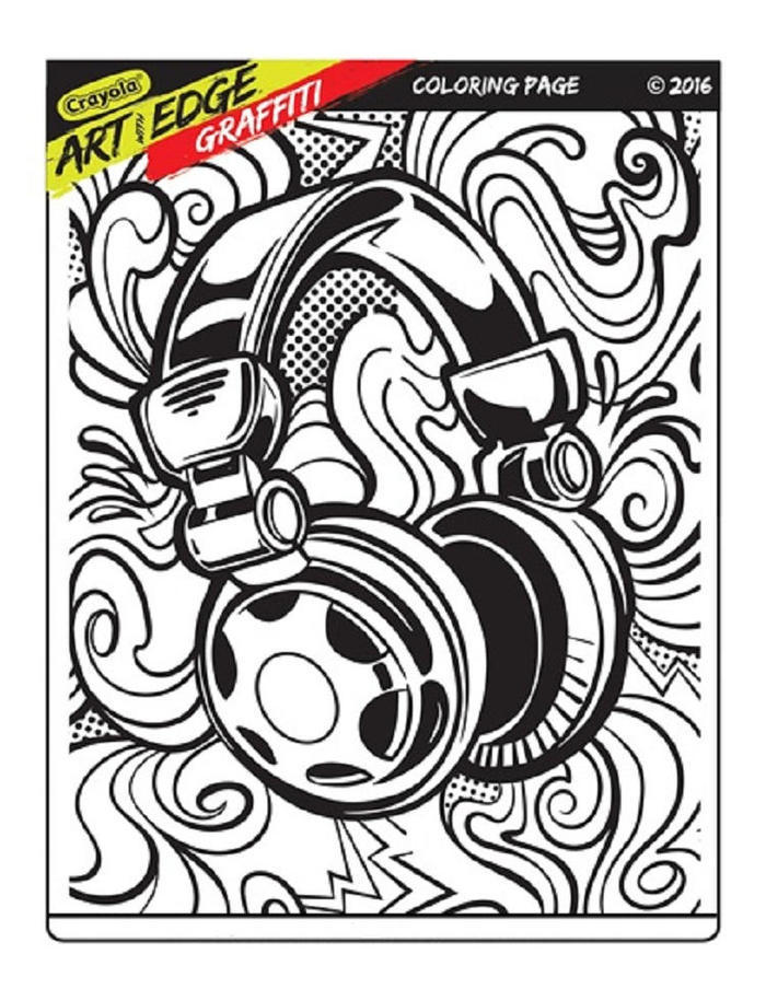 Crayola Art With Edge Coloring Pages