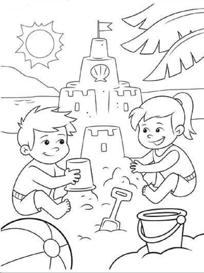 Crayola Summer Coloring Pages