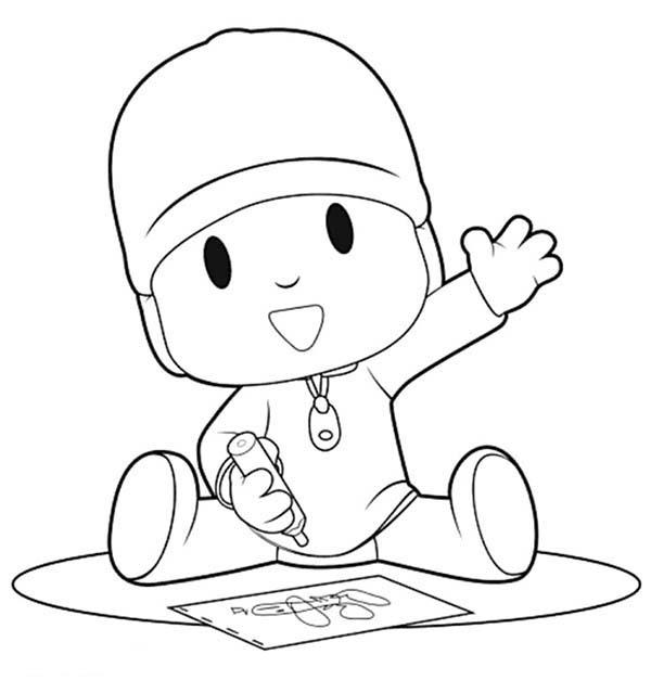 Crayon Coloring Pages With Kids