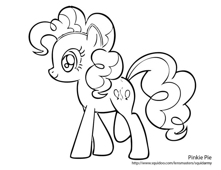 Creative My Little Pony Coloring Pages