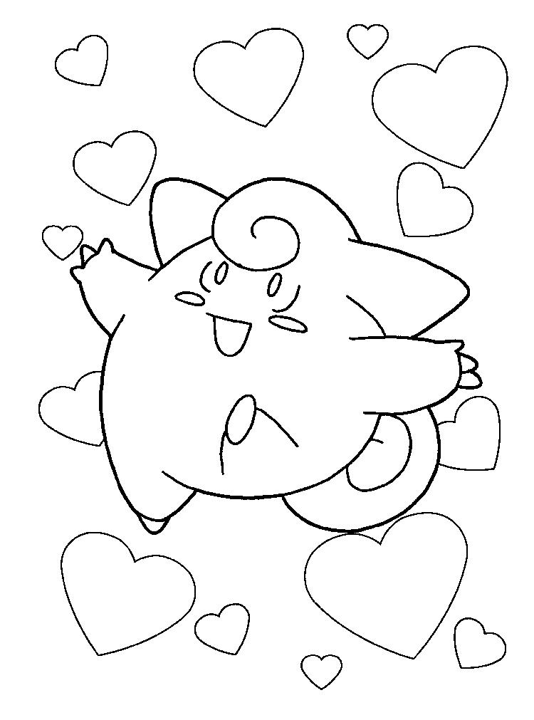 Creative Pokemon Coloring Pages