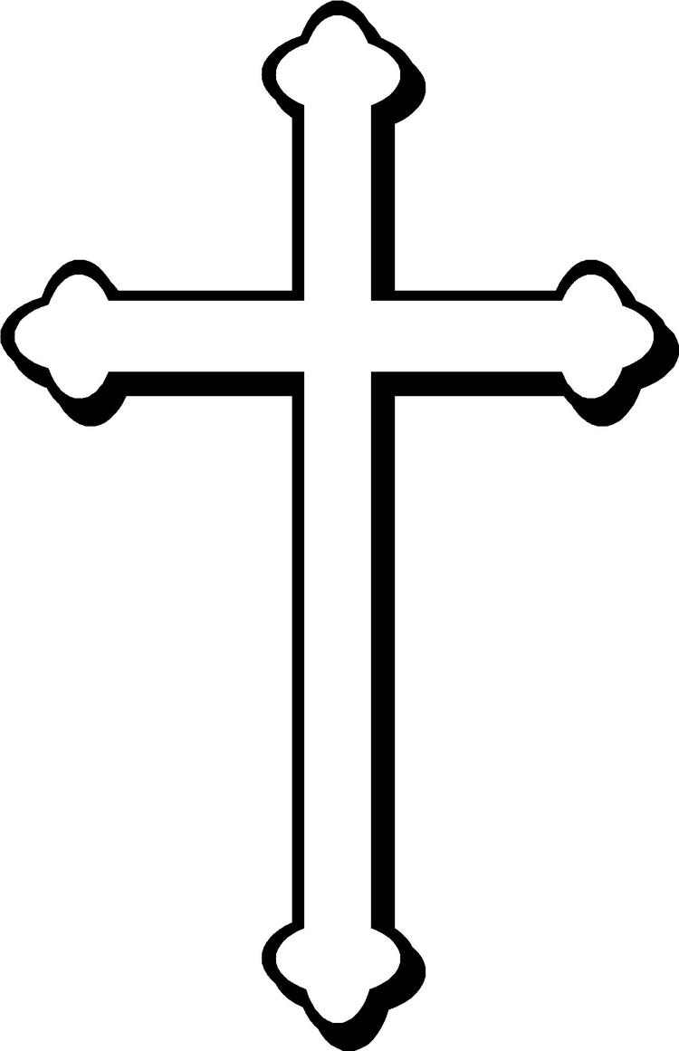 Cross Coloring Pages For Toddler