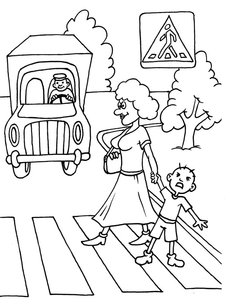 Crossing Guard Coloring Books