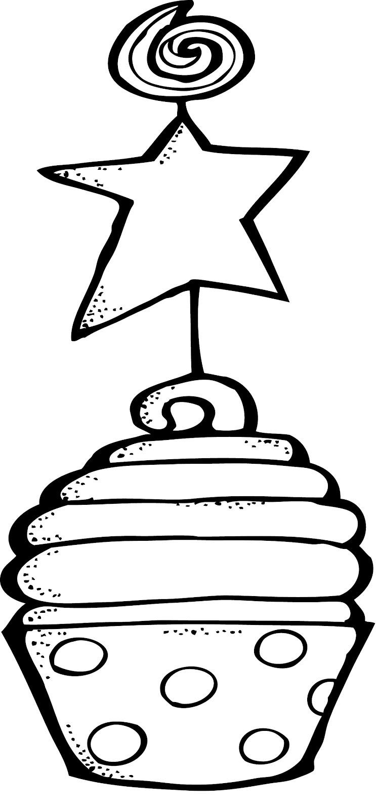 Cupcake Coloring Pages For Boys