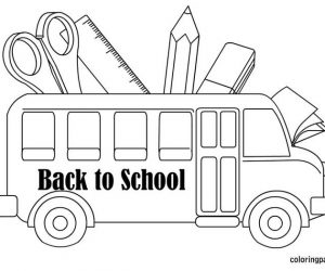 Cute back to school coloring pages 1 1