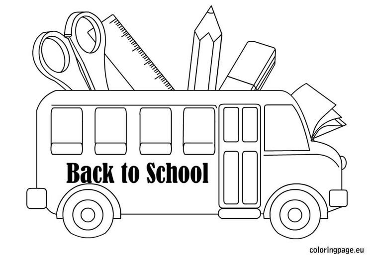 Cute Back To School Coloring Pages 1
