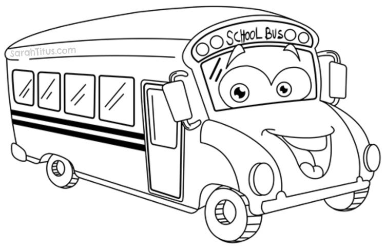Cute Back To School Coloring Pages 2