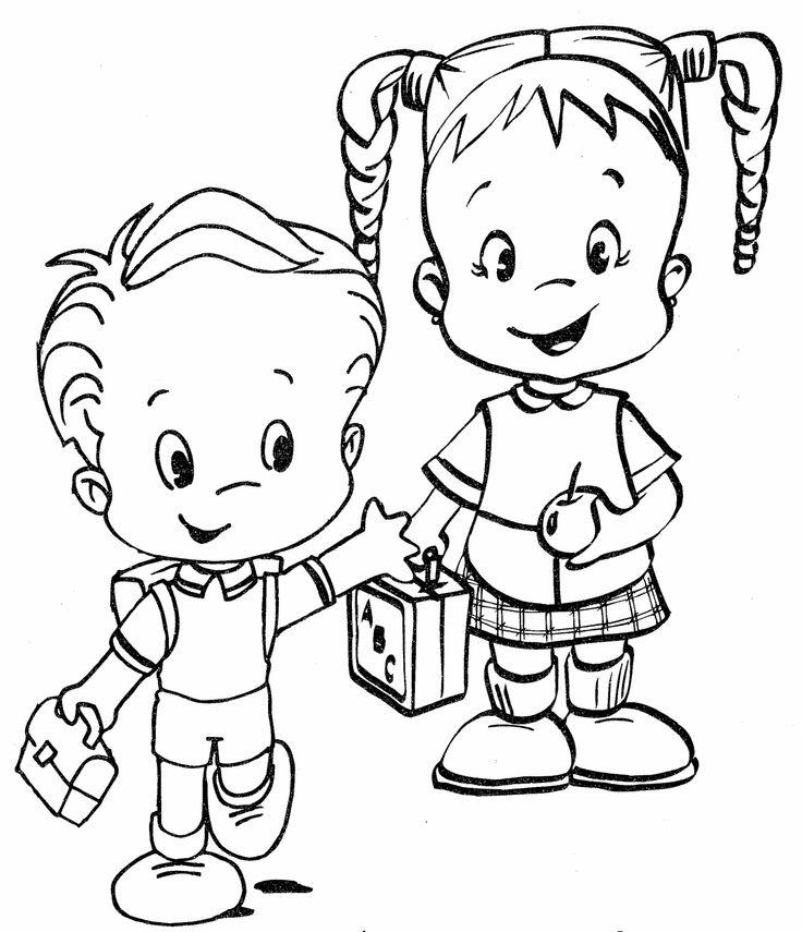 Cute Back To School Coloring Pages For Preschool