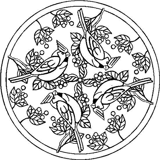 Cute Free Mandala Coloring Pages 2