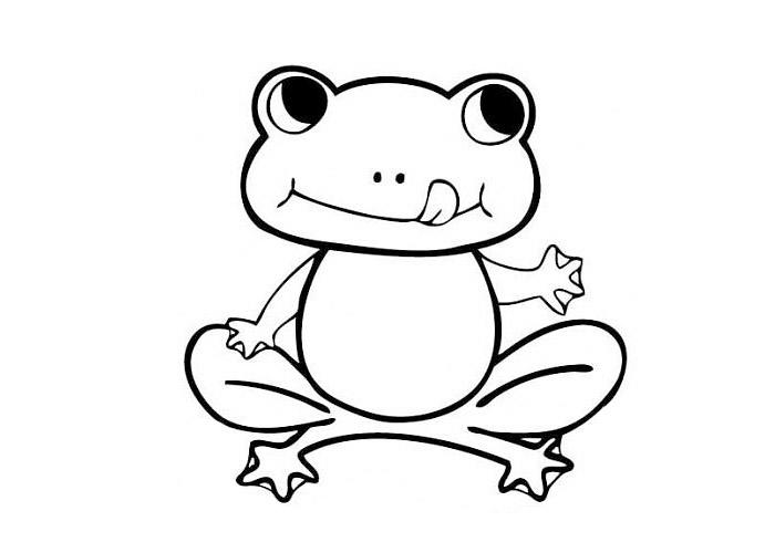 Cute Frog Coloring Pages To Print