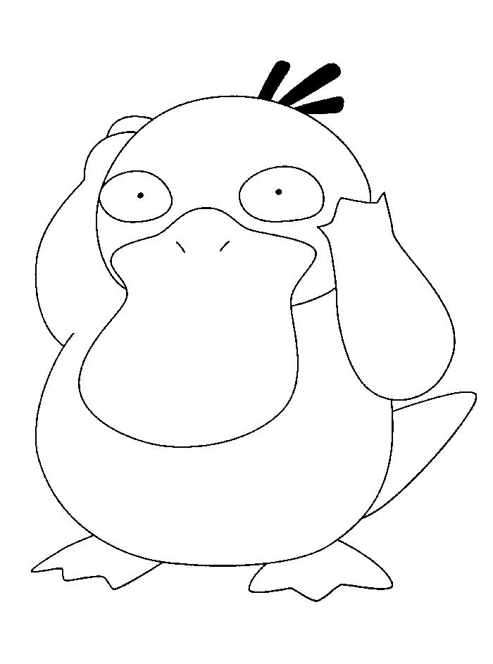 Cute Legendary Pokemon Coloring Pages