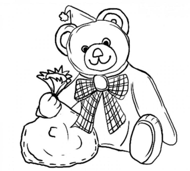 Cute Teddy Bear Coloring Pages Pictures