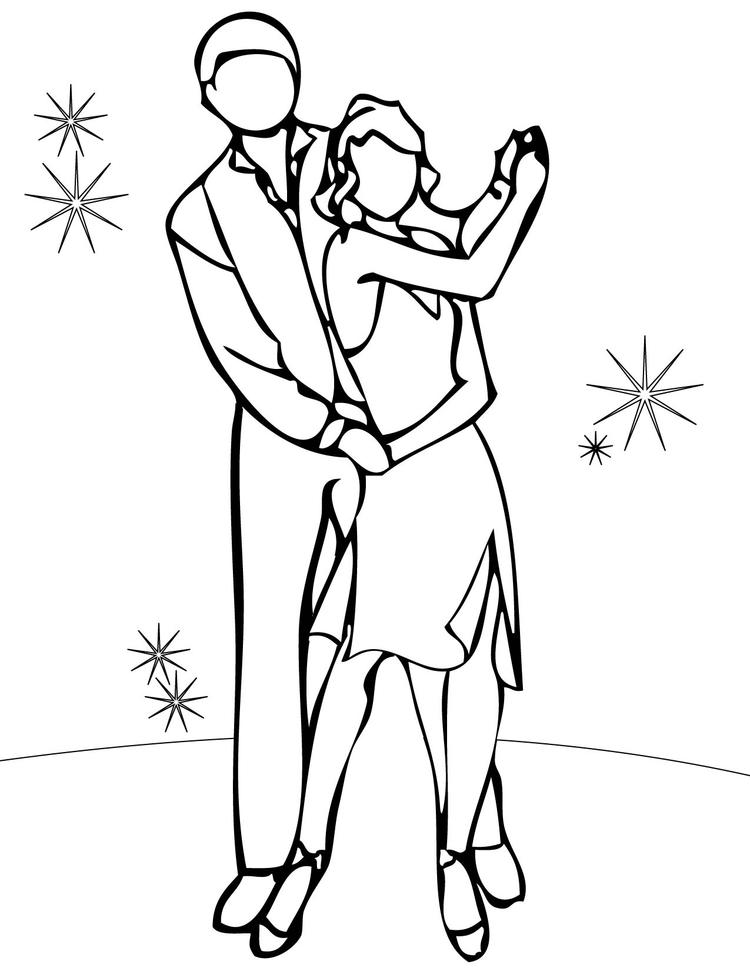 Dance Coloring Pages Free To Print