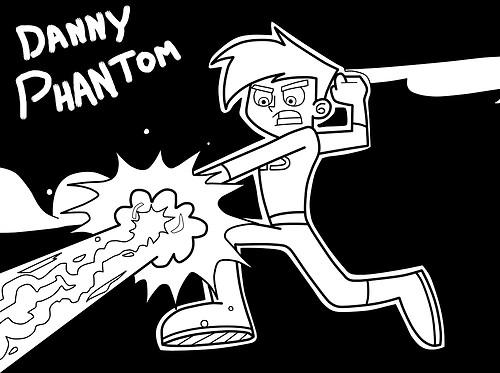Danny Phantom Coloring Pages To Print