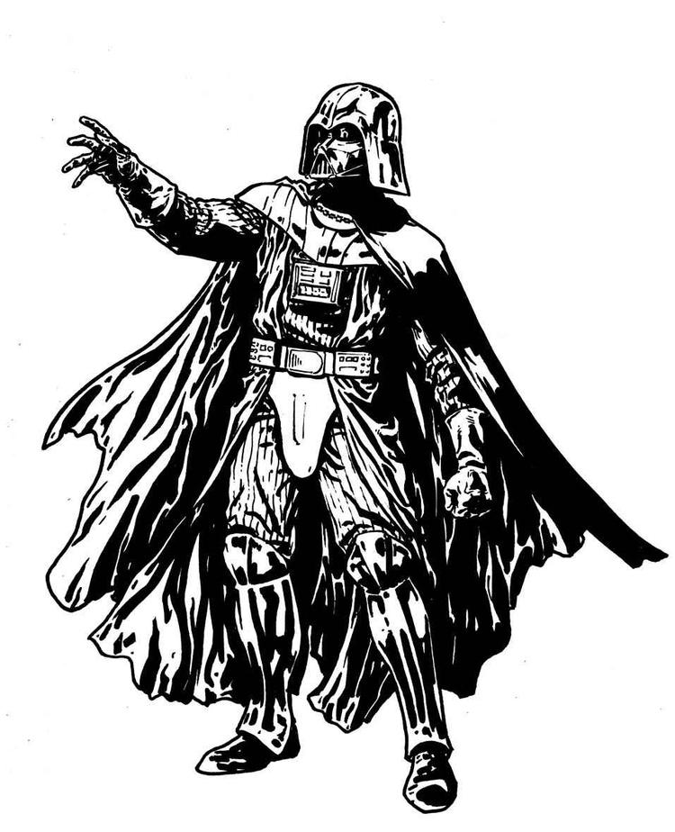 Darth Vader Coloring Pages 200