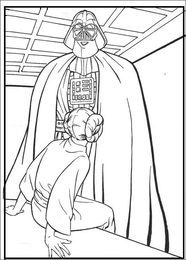 Darth Vader Coloring Pages Free To Print