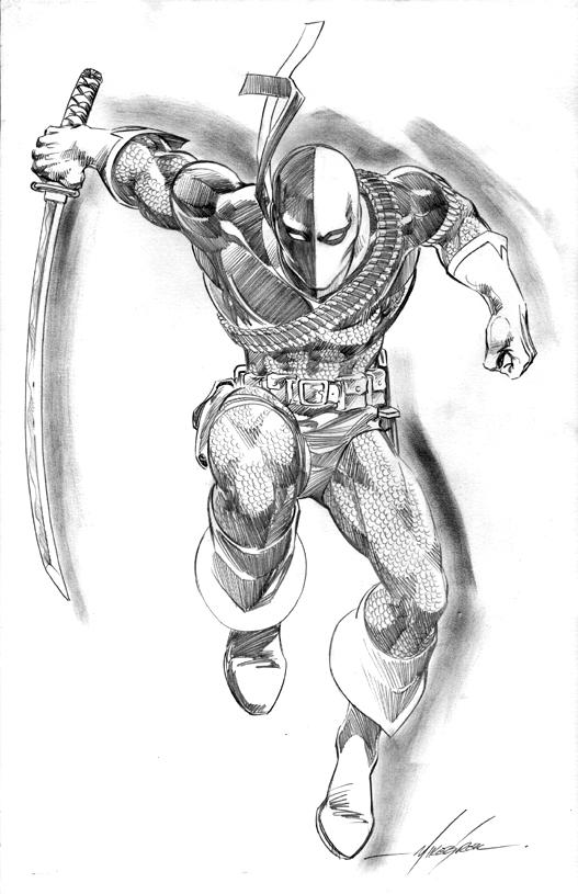 Deathstroke Vs Deadpool Coloring Pages For Kids Coloring Ideas
