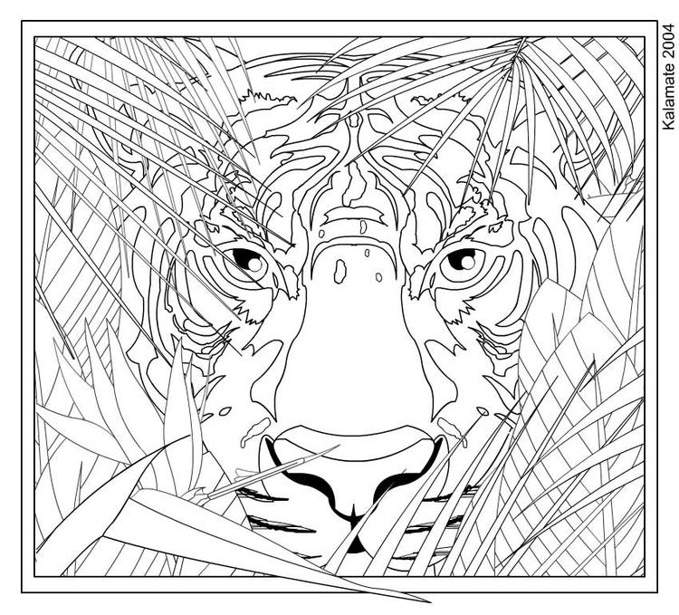 Difficult Coloring Pages For Teenagers Printable