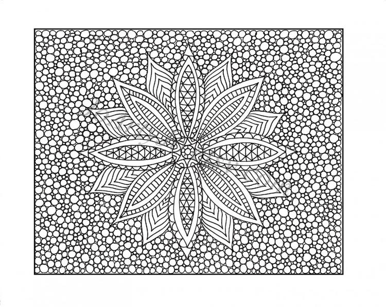 Difficult Mandala Coloring Pages Difficult For Teen
