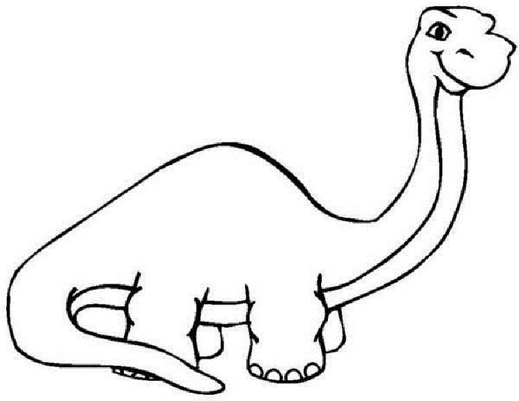 Dinosaur Coloring Pages For Preschool
