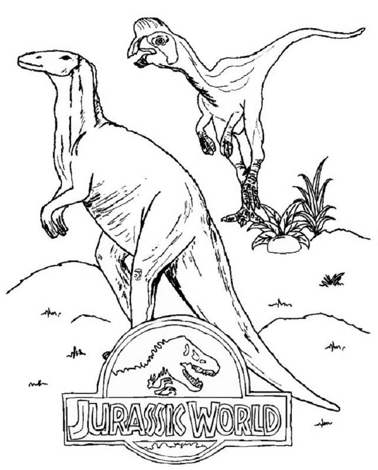 Dinosaur Coloring Pages Jurassic World