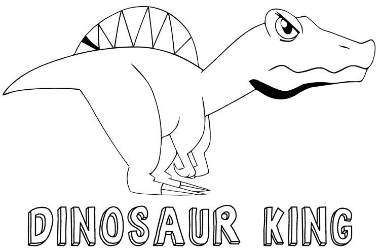 Dinosaur King Coloring Pages To Print