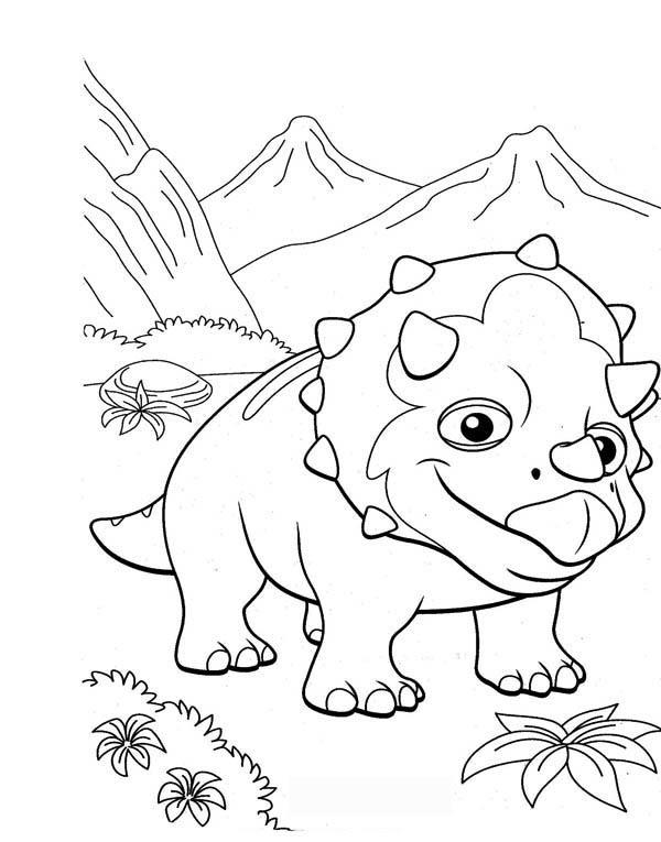 Dinosaur Train Coloring Books 02