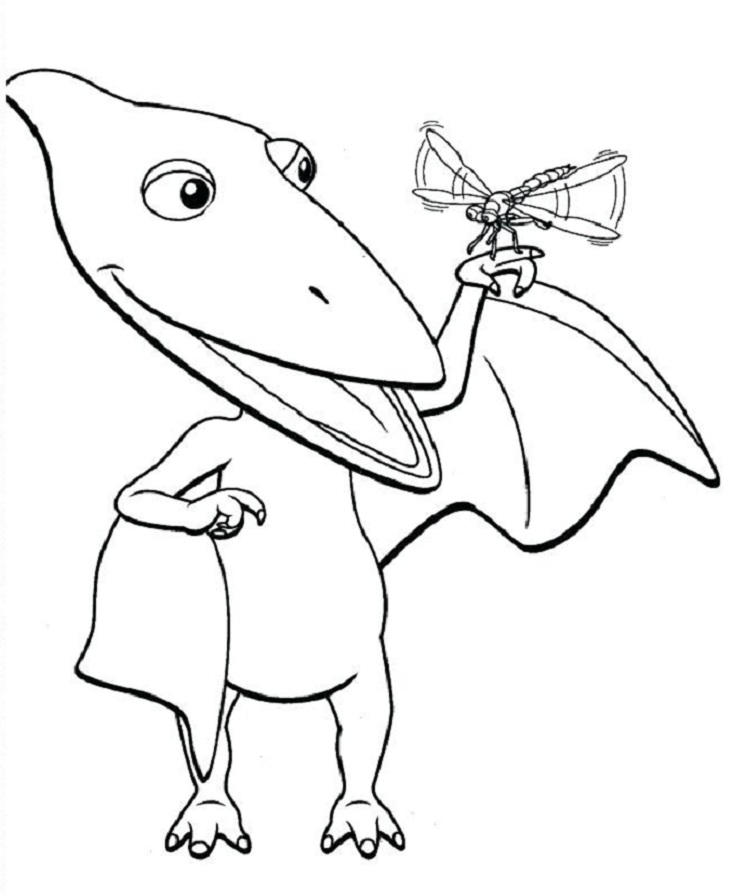 Dinosaur Train Giant Coloring Pages