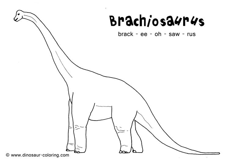 Dinosaurs Coloring Pages With Names For Print