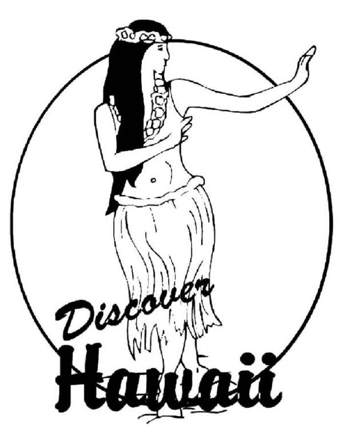Discover Hawaii Coloring Pages