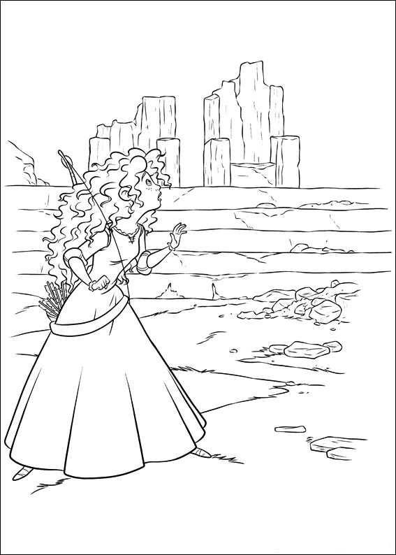 Disney Brave Coloring Pages To Print