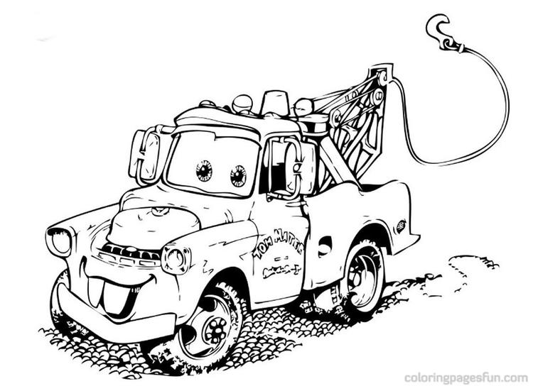 Disney Cars Coloring Pages For Kids 1 Coloring Ideas