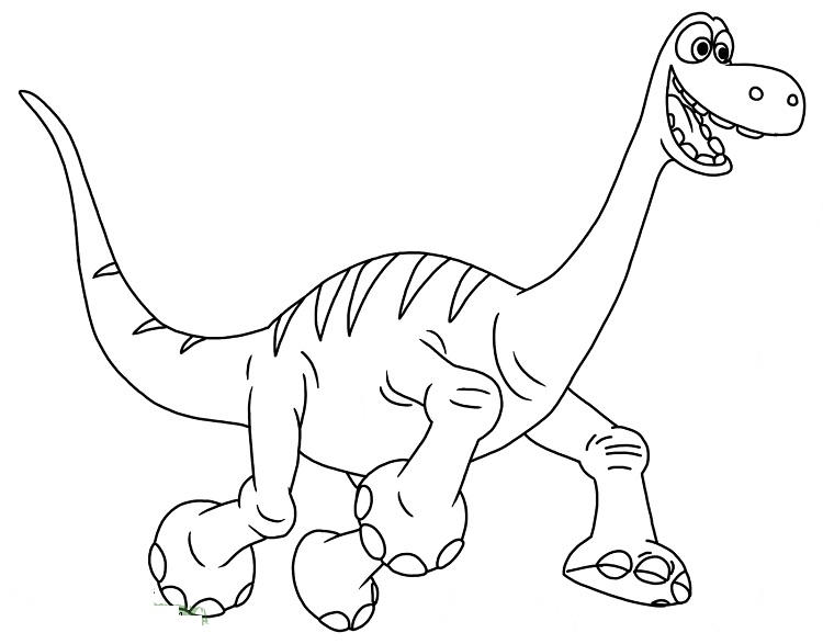 Disney Dinosaur Coloring Pages