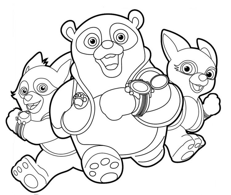 Disney Junior Coloring Pages Special Agent Oso