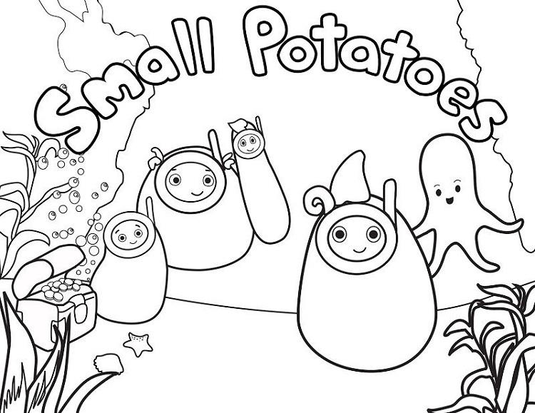 Disney Junior Summer Coloring Pages